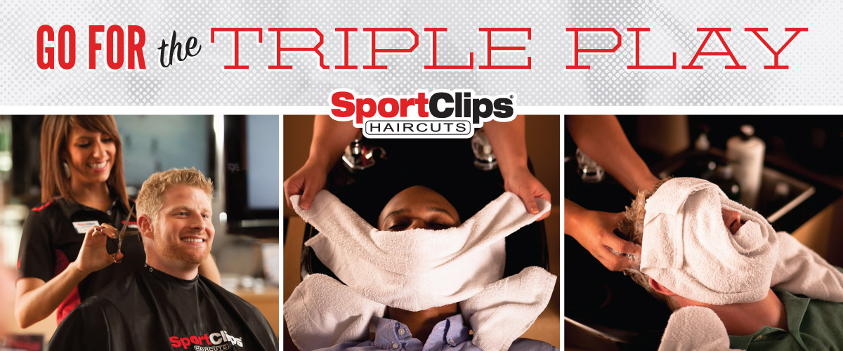 The Sport Clips Haircuts of Macedonia  Triple Play